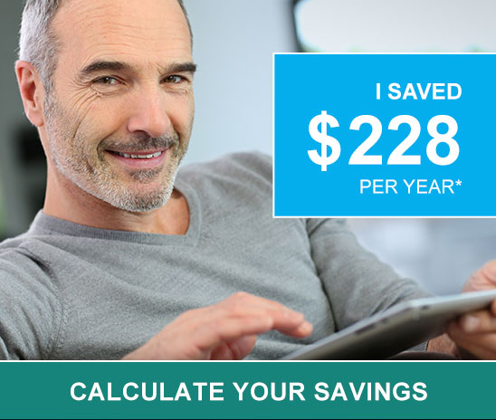 Calculate your savings